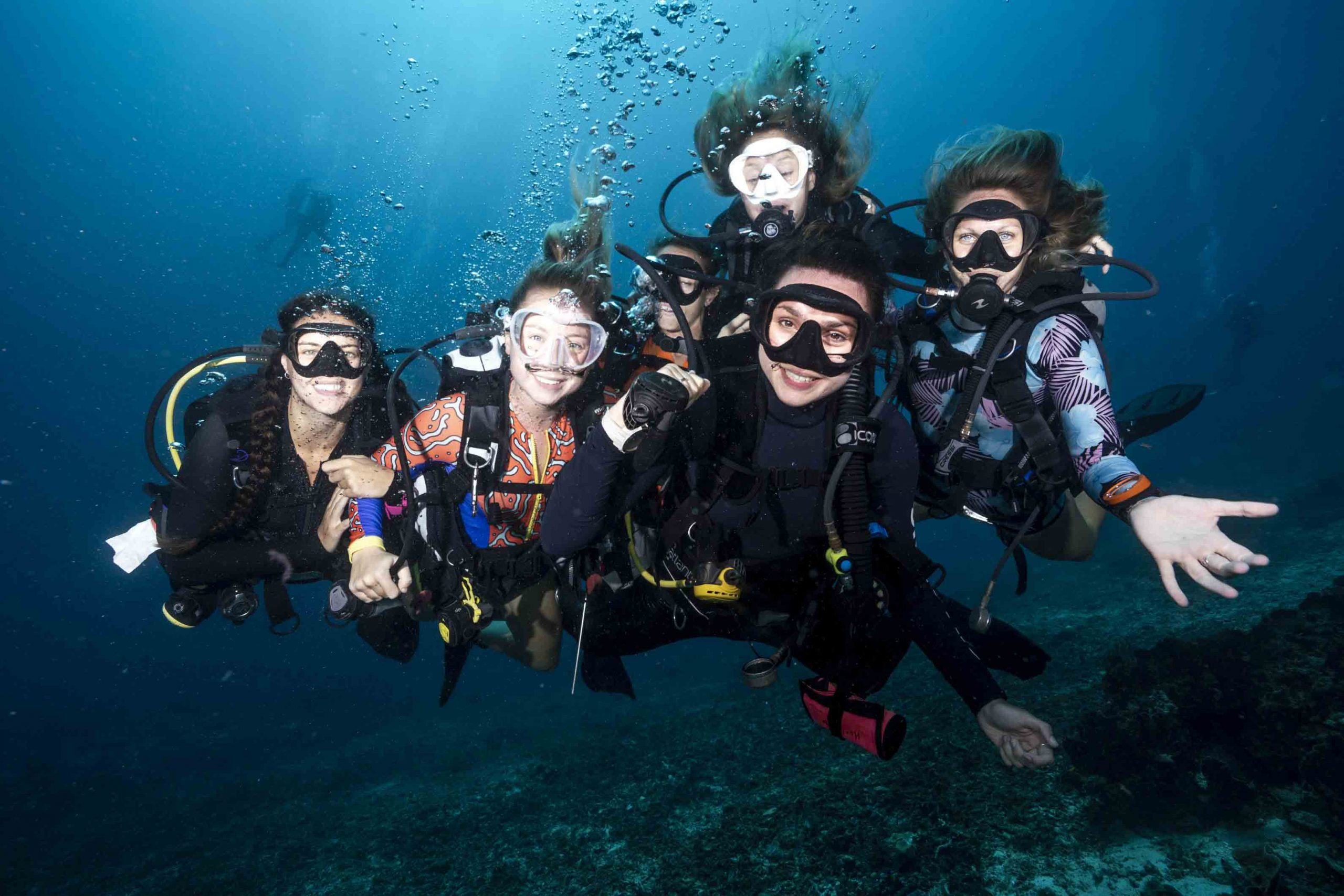 SCUBA diving career development program in South Africa